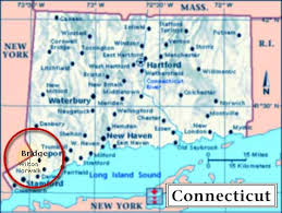 connecticut on map location of wilton connecticut
