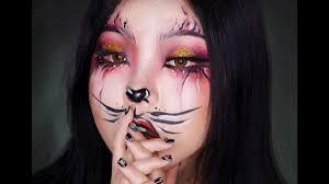 레드 카툰캣 우먼 cartoon cat woman halloween makeup youtube