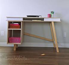Diy Modern Desk White Grasshopper Base For Build Your Own Study Desk Diy