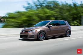 vw golf gti mk7 on vossen vle 1