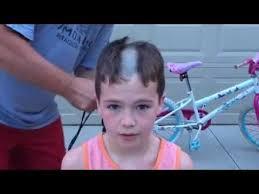 shaving caiden u0027s head summer 2016 youtube