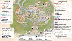 mickey u0027s not so scary halloween party guide map 2013 photo 1 of 2