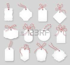 price tags and gift cards up with twine bows set label