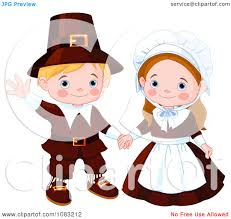 thanksgiving pilgrams pilgrims clipart collection