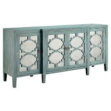 carrie ocean blue breakfront credenza buffet table free