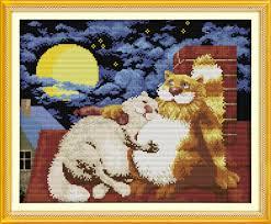 online get cheap lovers cross stitch pattern aliexpress com
