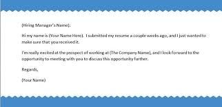 Body Of An Email When Sending Resume Sample Email For Sending Resume Sample Email To Send Resume