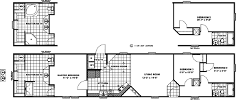 Floor Plans For Mobile Homes by Santa Rosa