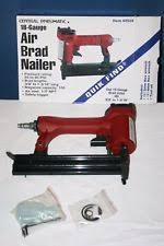 central pneumatic 18 gauge air brad nailer by harbor freight tool