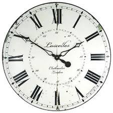 big kitchen wall clocks