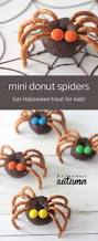 halloween appetizers for kids mini donut spiders mini donuts buzzfeed and donuts