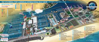 map of ft lauderdale international boat illustrated maps