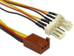 chassis fan connector splitter computer pc case fan extension 3 pin fan power y splitter cable lead