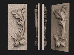 3d print model acanthus ornament cgtrader