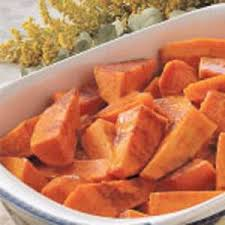 candied sweet potatoes recipe taste of home