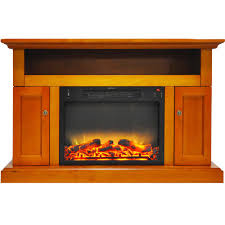 fireplace display hanover kingsford 47 in electric fireplace with an enhanced log