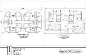 2 unit apartment building plans beautiful 4 unit apartment building plans ideas interior design