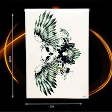 neck wing tattoos eagle wings tattoos reviews online shopping eagle wings tattoos