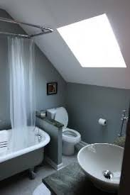 Small Attic Bathroom Sloped Ceiling by Cape Cod Attic Remodel View Topic Hanging Shower Curtain On