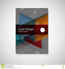 Business Cover Page Template by Abstract Business Flyer Design Vector Template In A4 Size Annual