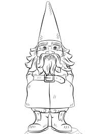 goosebumps coloring pages garden gnome coloring page free printable coloring pages