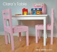 diy build your own table and chairs for kids prego stuff
