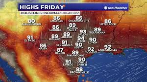 san angelo tv guide more heat more humidity the next few days abc13 com