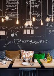 restaurant wall decoration ideas inspiration interior home design