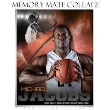 sports memory mates 8x10 powder explosion basketball u2013 ashedesign