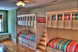 Bunk Beds In Wall Wall Treatment Back Of Bunk Beds