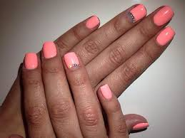 peach nail design images nail art designs