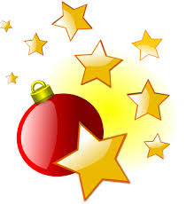 New Year Decorations Png by Christmas Star Clipart Png Clipartxtras