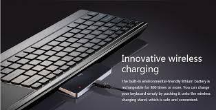 Laptop With Light Up Keyboard Rapoo E9090p Wireless Charging Illuminated Keyboard E9090p
