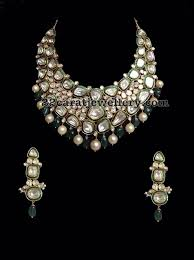 Buy Alankruthi Pearl Necklace Set Preety White Pearl Wedding Bridal Necklace Set With Maang Tikka