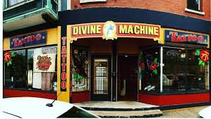 divine machine tattoo home facebook