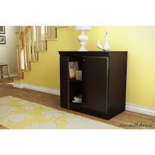 south shore storage cabinet south shore morgan chocolate storage cabinet 7259722 the home depot