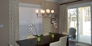 Dining Room Blinds by Gallery Austin U0027s Draperies Unlimited Shutters Shades Wrought Iron