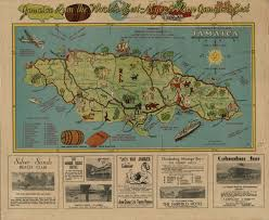 Map Of Kingston Jamaica Digjamaica Our Past