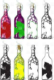 wine clipart set of wine bottles vector clipart image 25269 u2013 rfclipart