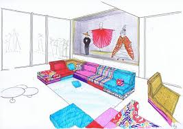 Bfa In Interior Design by 67 Best Sketches Images On Pinterest Mountains Sketches And