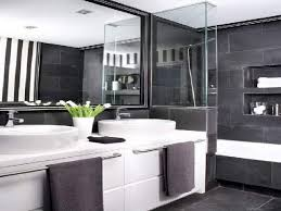 Black And White Bathroom Decorating Ideas Grey And White Bathroom Ideas Home Design Ideas