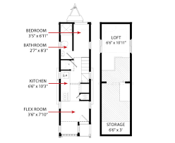 Micro House Floor Plans Cypress Tumbleweed Houses
