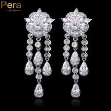 white gold chandelier earrings compare prices on chandelier earrings gold online shopping buy