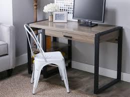 Gray Computer Desk Wood Desks Walker Edison