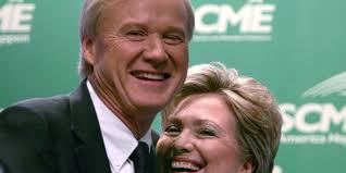 where does hillary clinton live chris matthews has a clear conflict of interest when it comes to
