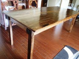 Building Dining Table Top How To Build A Reclaimed Wood Kitchen Pallet Dining Roome Diy Amazing Making Photos Ideas With Columns