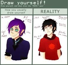 Meme Yourself - draw yourself meme by jackross v on deviantart