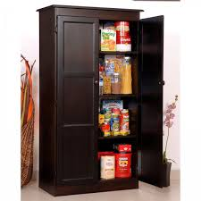 Free Standing Kitchen Pantry Furniture Free Standing Kitchen Pantry Furniture With Brown Free