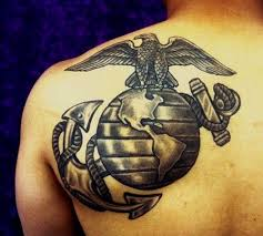 marine corps tattoos peace in the shadows marine tattoos