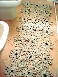 tappeti da bagno uncinetto e non nuovi tappeti